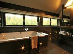 Hotelkamer met jacuzzi op de Veluwe