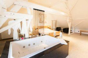 Hotelkamer met jacuzzi België