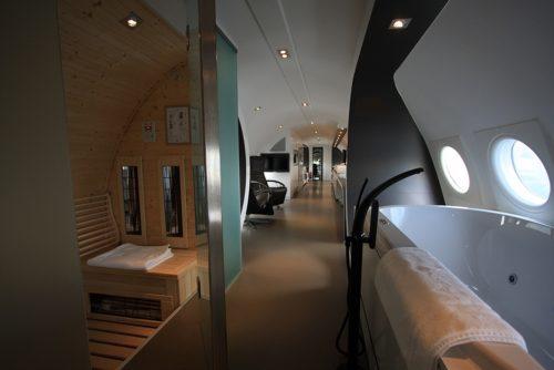 Hotel met jacuzzi Teuge - Vliegtuigsuite